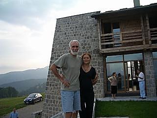 Sa suprugom Zoranom