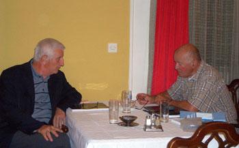 Godinama na istom poslu: Slobodan Đukić i Kobi Mitrović