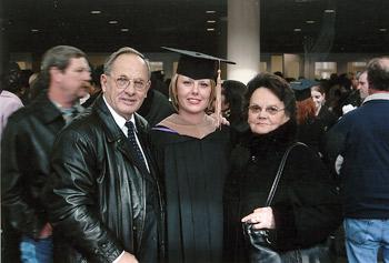 Ivana je podelila radost sa bakom Lolom i dedom Dragišom