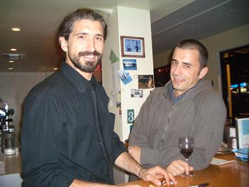Aleksandar Mojović i Saša Stanković