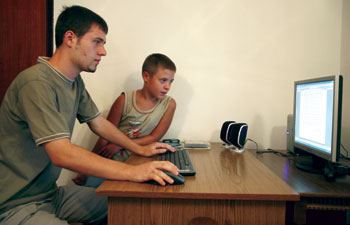 Računar i internet kao izazov: Mladen i Igor Radojević