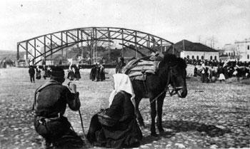 Nekadašnji most na Kolubari u Valjevu