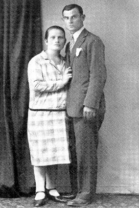 Živana i Sima Ivaglo, u Ljigu 1930.
