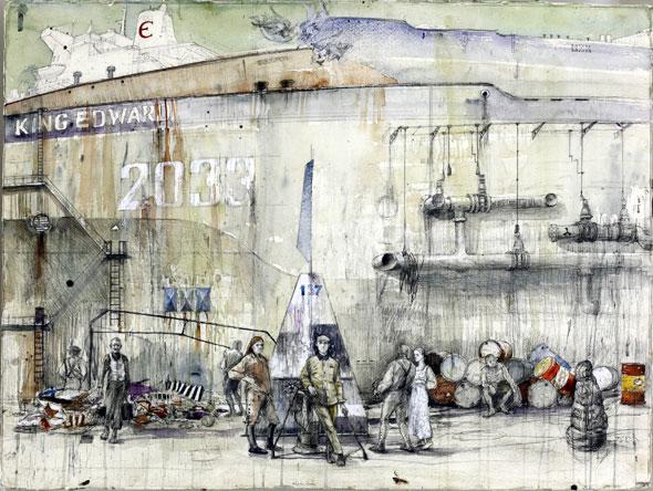 Milan Tucović, Memorija pristaništa