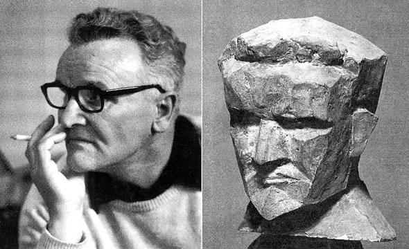 Vojin Bakić - portret i autoportret
