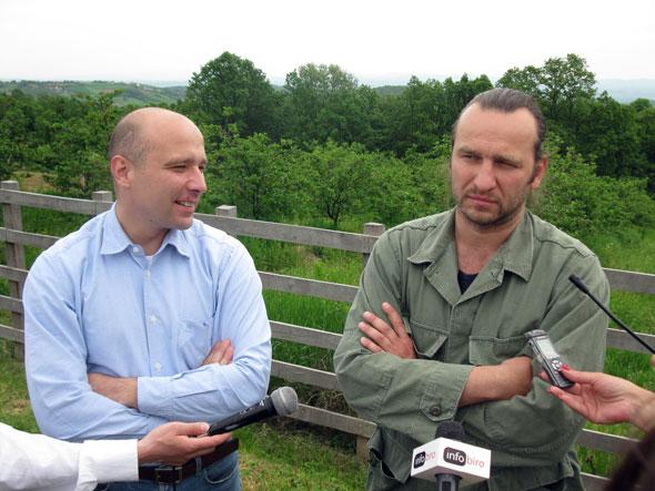 Ministar Dragan i domaćin Nenad Jezdić