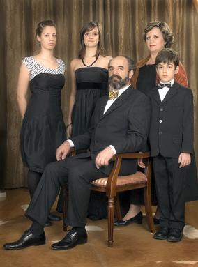 Dr Jokić sa porodicom
