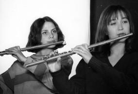 Irena Blagojević i Ana Radanović