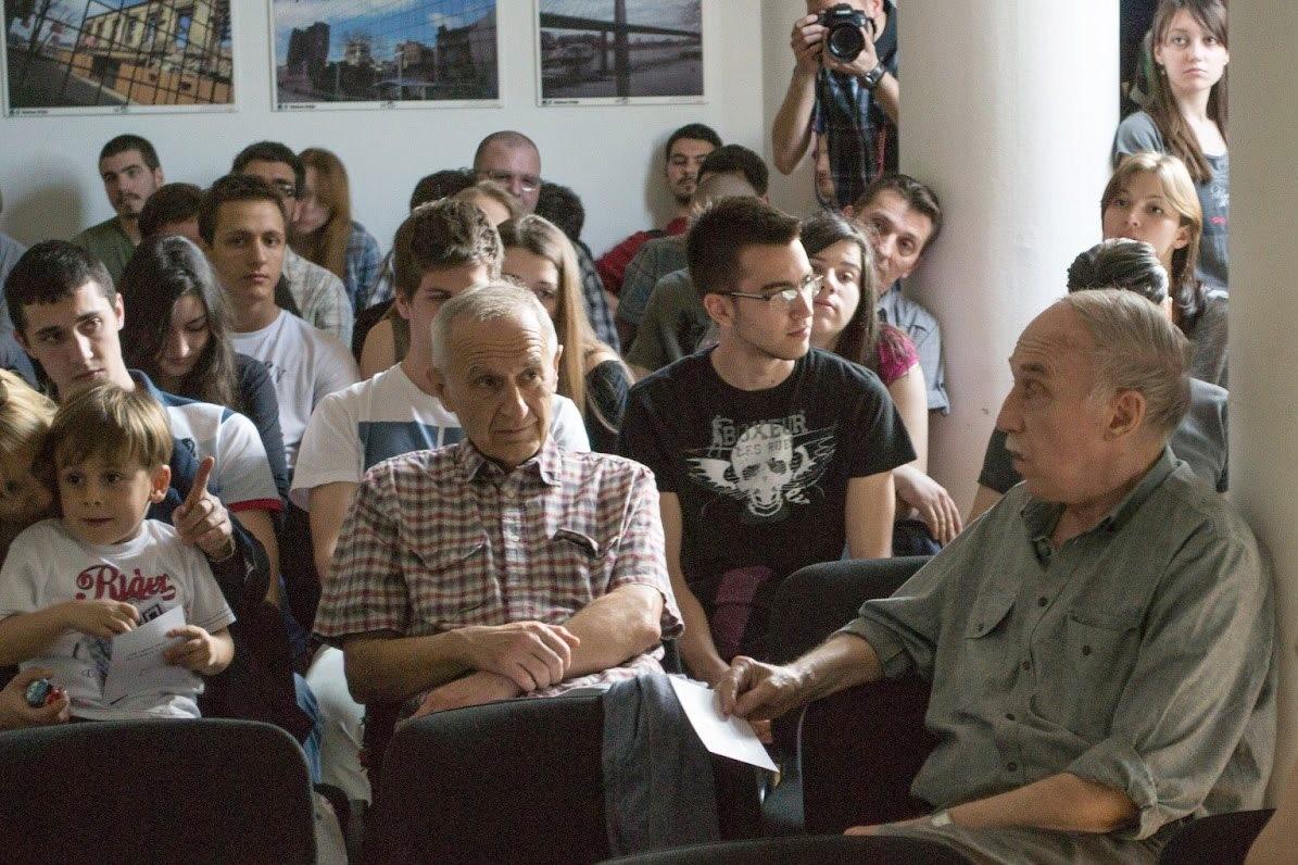 Tribina o obnovi Letnje škole arhitekture, Galerija Artgejt Beograd, april 2013. godine
