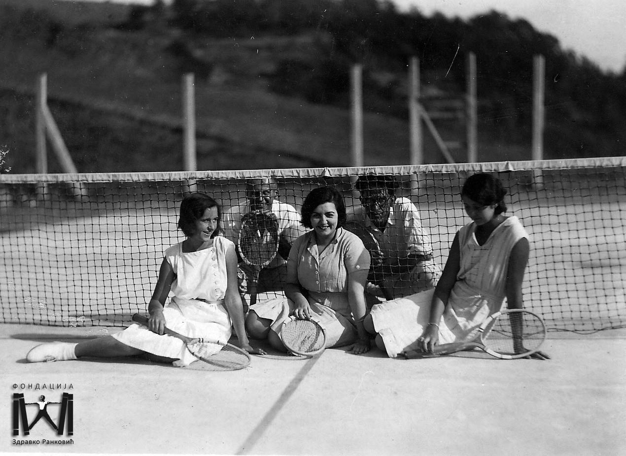Valjevske teniserke 1930.