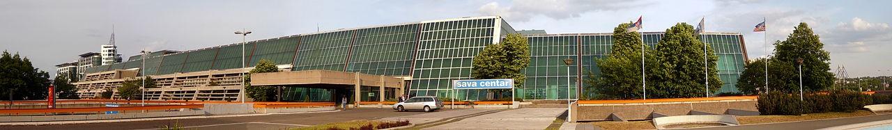 Sava Centar, panorama