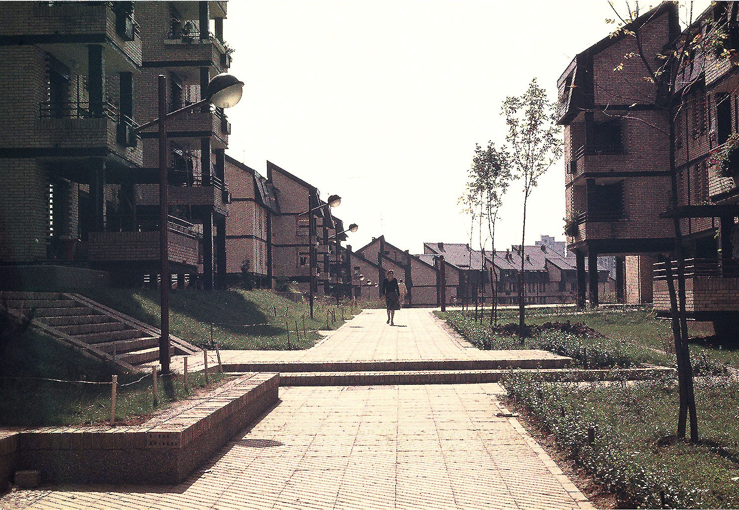 1981: Naselje Cerak Vinogradi u Beogradu - M. i D. Marušič sa N. Borovnica