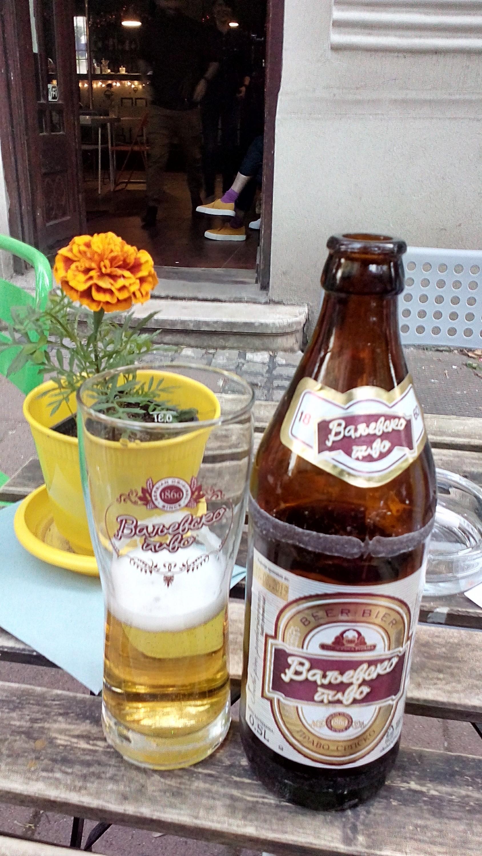 Valjevsko pivo u beogradskom kafeu Meduza
