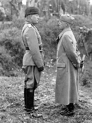 Dva igrača loše sreće. Benito Musolini i Vitorio Emanuele III