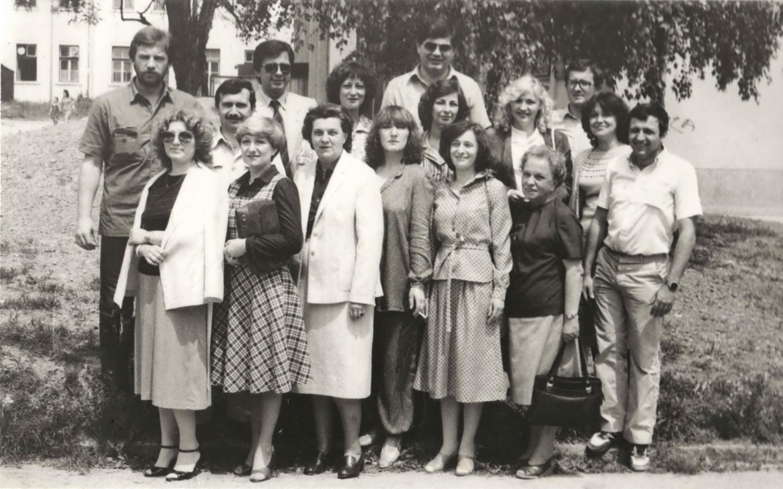 Proslava 15 godina mature, maj 1982.