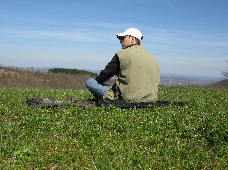 Strmna Gora - pogled na Valjevo