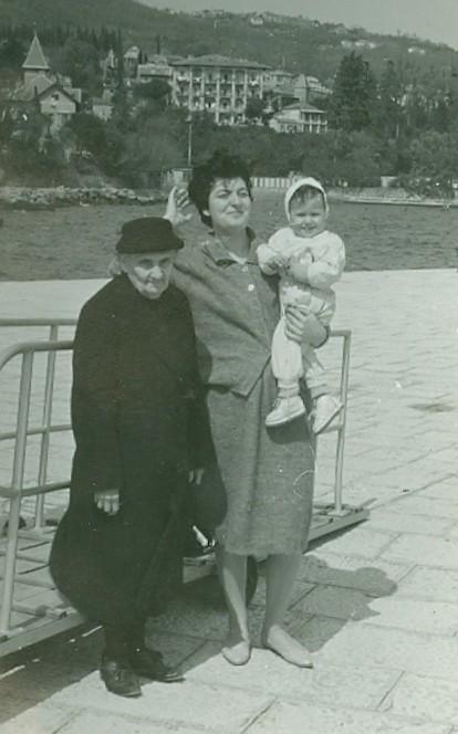 Pata, Ružica, Diana u Opatiji, 1960.