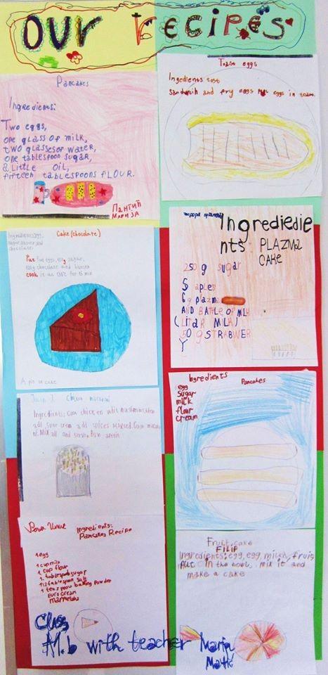 Crtež polaznika valjevske škole jezika Lingva