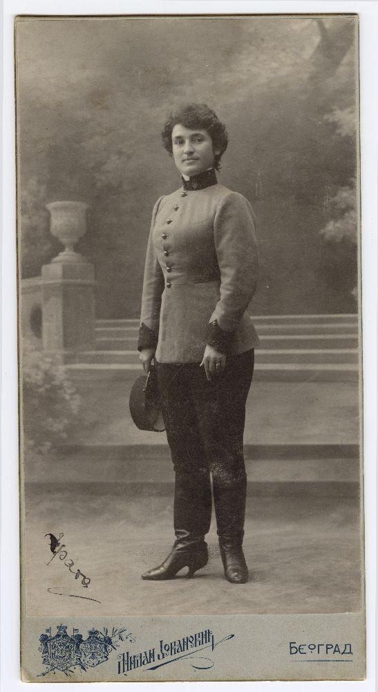 Slika napolju u uniformi