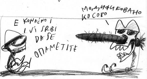 karikatura: Milan Mihajlović