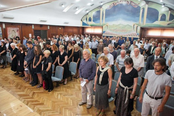 Komemoracija (foto: Đorđe Đoković / kolubarske.rs)