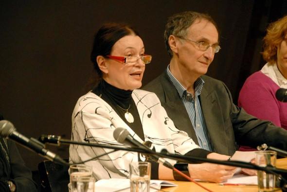 Milenija Marušić govori na promociji knjige 'Valjevke'