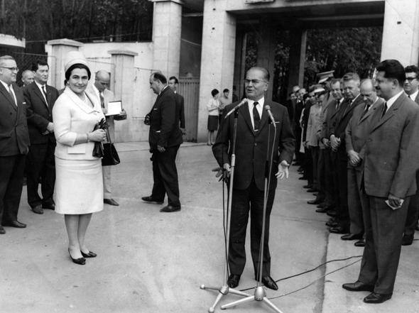 Tito u Krušiku, 1967.