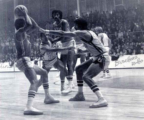 Utakmica Metalac - Zadar, 1970