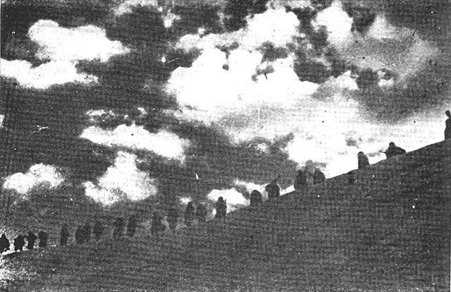 Šesta proleterska divizija u pokretu