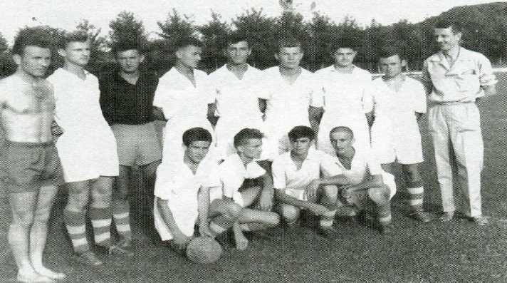 Ilistracija iz diplomskog rada o nastanku i razovju FK Budućnost