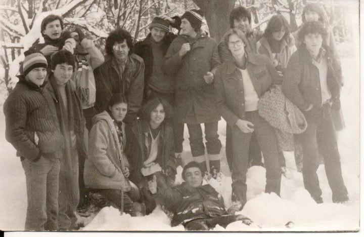 Golaći nisu vozili samo motore, umeli su i da se sankaju, grudvaju, šetaju 1979. godina