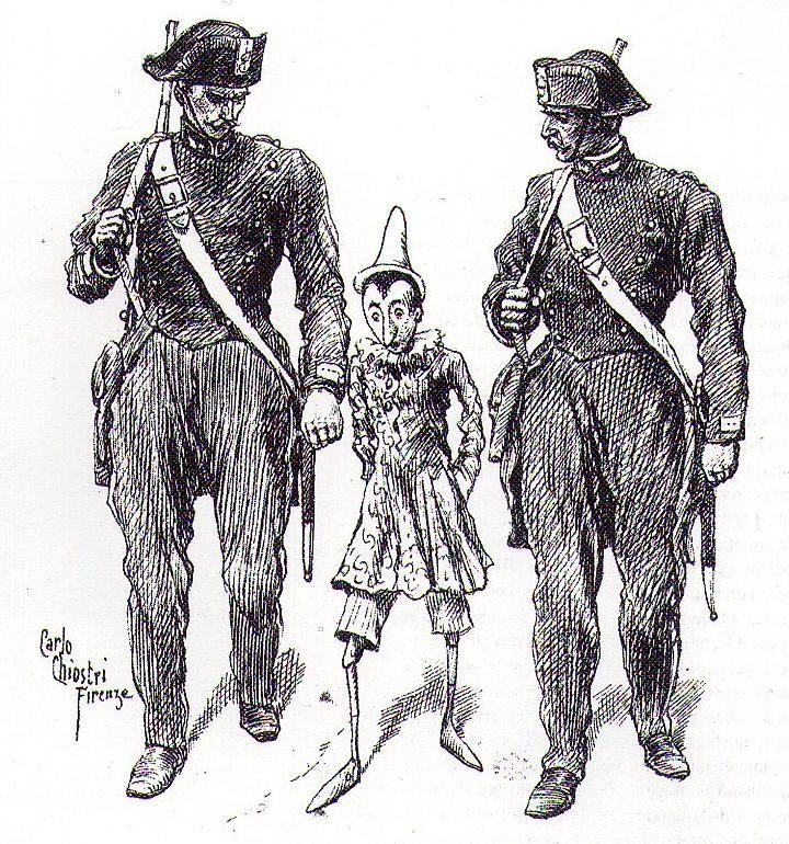 Ko je uhapsio jadnog Pinokia?