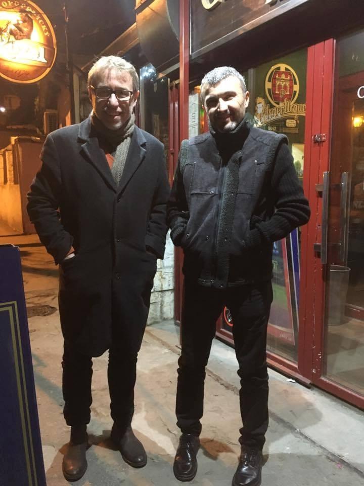 Dragan Marčetić i Milan Maksimović