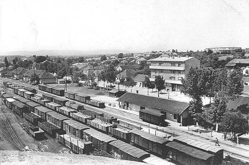 Pruga u Lajkovcu sredinom šezdesetih