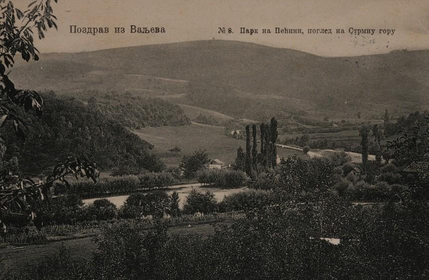 Strmna Gora, razglednica iz kolekcije Revije Kolubara