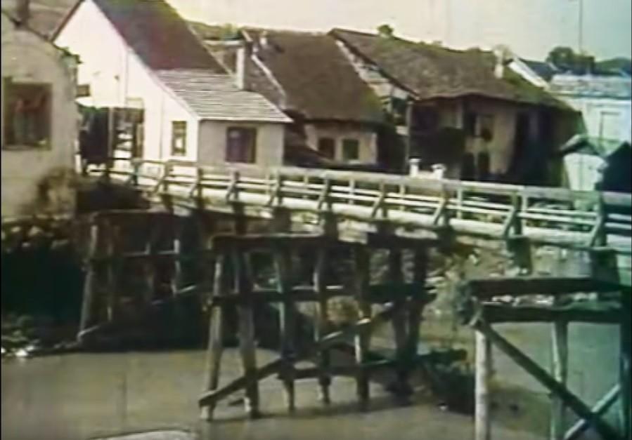 Drveni most na Kolubari