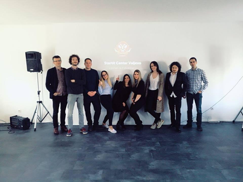 Pokretači Startit Centra Valjevo